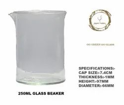 250 ML ROUND GLASS BEAKER