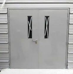 Galvanized Fire Door