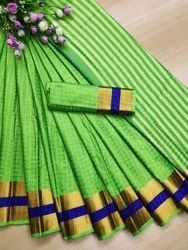 Women  Soft Cotton Silk Sarees
