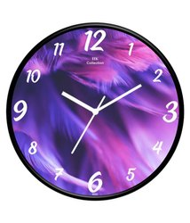 Plastic Festival Decorative Analog Wall Clock, For Office