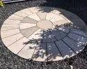 Sandstone Circles Paving