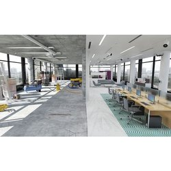 College Building Interior Designing