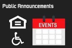 Public Events Management Service