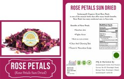 Seekanapalli Organics Rose Petals 200g