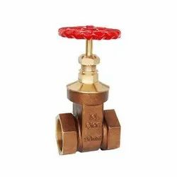 BRONZE GATE VALVE HEX. TYPE