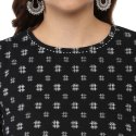Yash Gallery Women's and Girls Cotton Printed Top