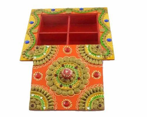 Handmade Dry Fruit Boxes