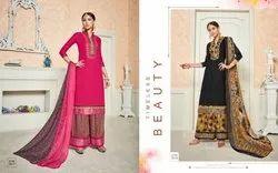 Ravi Creation Present Afzaa Vol 2 Cotton Plazzo Style Salwar Suit