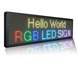 LED Message Scrolling Boards