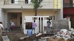 Prefab Ceramic Colony Construction Services, in Local