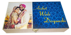 Choco India Wedding Chocolate With Wooden Box