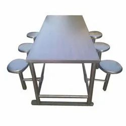 Six Seater Dinning Table Foldable