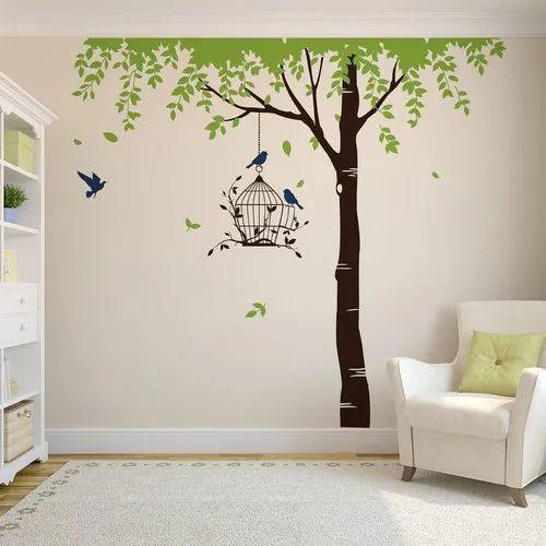 Pvc Tree Wall Stickers Size 300 Cm