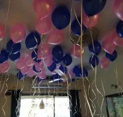 Helium gas balloon