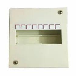 Single Door 8 Way Mild Steel MCB Box, For Electric Fittings