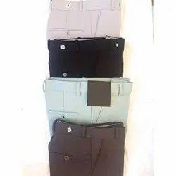 Flat Slim Fit Unique Armani Lycra Formal Pant, Handwash
