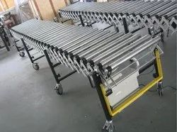Motorized Flexible Expandable Conveyor