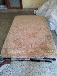 蓬松的矩形卧室地毯