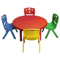 Playschool Table Chair Set