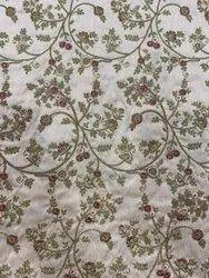 Beautiful Zari Embroidery Fabric