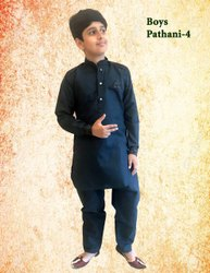 Silk Party Wear Boys Kurta Pajama