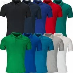 Multicolor Unisex Promotional Jersey SublimationPlain Collar T-Shirts, Age Group: Adults