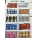 150 GSM Checks Uniform Fabric