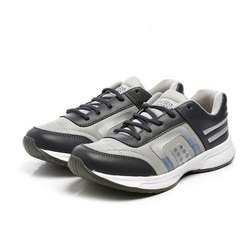 Mens Light Grey Dark Grey Walking Shoes