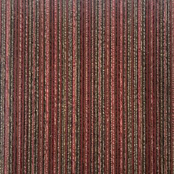 Line Shade PVC Carpet Tiles