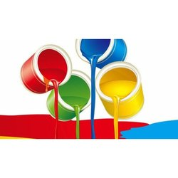High Gloss Oil Based Paint Industrial Epoxy Primer Paints, Packaging Type: Can