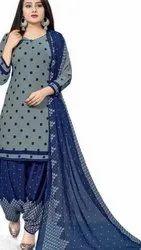 Lione Print Unstitched Ladies Patiyala Suit