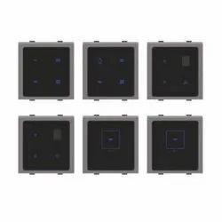 IR Touch Screen Switch Fan Regulator and Light Dimmer