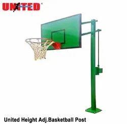 Height Adjustable Basketball Post
