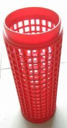 Perforated plasic cone for yarn, Dimension / Size: L- 170mm, Id -54 Mm
