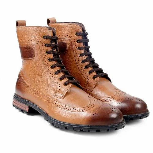 386ff06a331 Bacca Bucci Men's Britton Hill Wing Tip Boot Brogue/fashion/work Boots