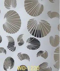 Interior Matalam designed acp sheets