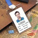 Crystal and Acrylic ID Card