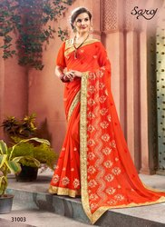 Party Designer Fancy Wear Sarees