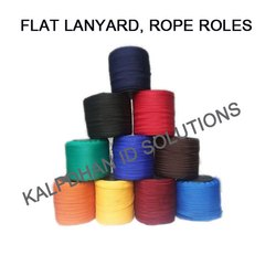 Flat Lanyards Rope Rolls, For Id Card Lanyard