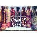 Dr. Vedic Polished Printed Copper Bottle
