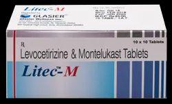 Levocetirizine 5mg, Montelukast 10mg (Litec - M) Tablet