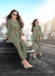 Pr Fashion Launched Semi-Casual Trendy Pair Of Top With Pants