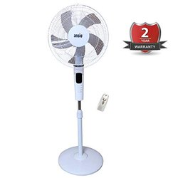 Pedestal Fan with Remote, 5 Blades 7.5 Hours Timer, 400 mm 16 Inch 100% Copper Motor 55 Watts