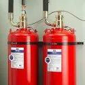 Abc Dry Powder Type Mild Steel Fm 200 Clean Agent Gas Based Fire Suppression System