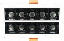 20W Linear Spot Downlight 70x140mm