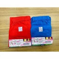 Chanchan Red and Blue Plain Cotton Legging, Size: XL