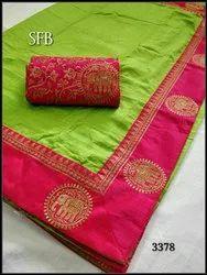 Sana Silk Border Saree