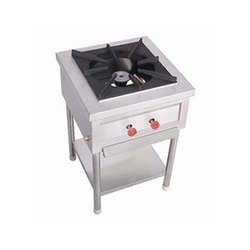 Cookman Stainless Steel Single Burner