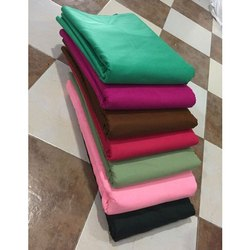 Unstitched Synthetic Plain Micro Dyed Fabric, 50-60 Gsm