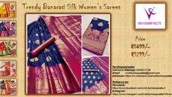 Wedding Vish Fashion Palette Banarasi Silk Sares